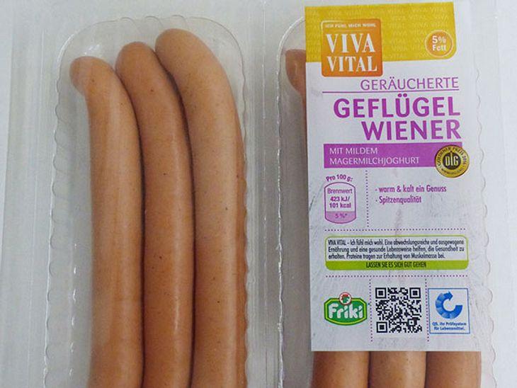 Geflügel-Wiener von Viva Vital werden zurückgerufen.