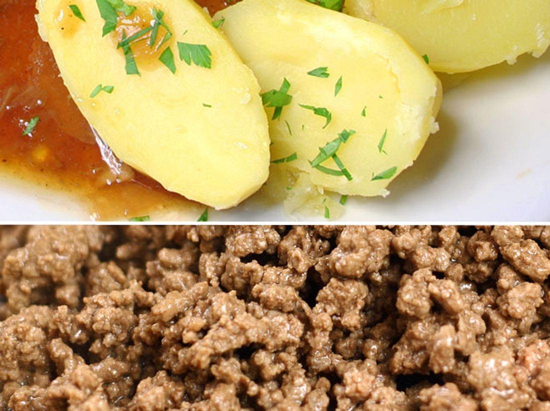 Die Gehacktesstippe ist eine Soße, die besonders gern in der ehemaligen DDR gegessen wurde.