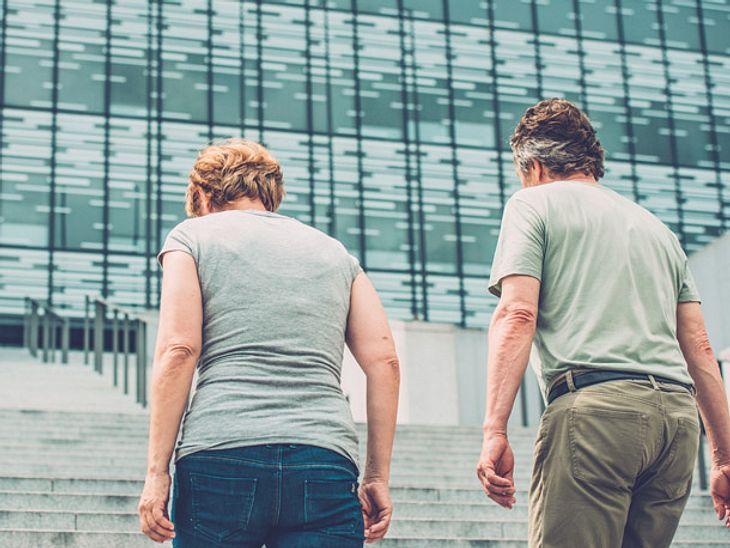 Durch Treppensteigen lässt sich das Gedächtnis trainieren.