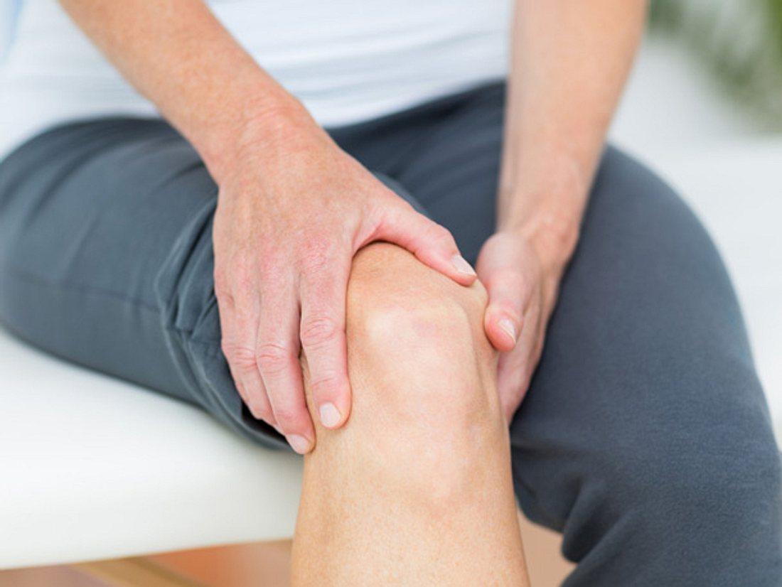 Gelenkschmerzen können durch Kollagen verbessert werden.