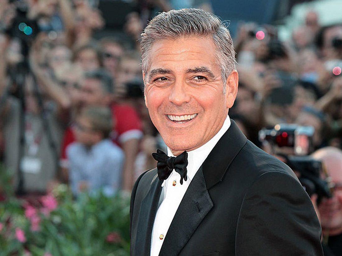 Wie George Clooney eine 87-Jährige zum Geburtstag überraschte