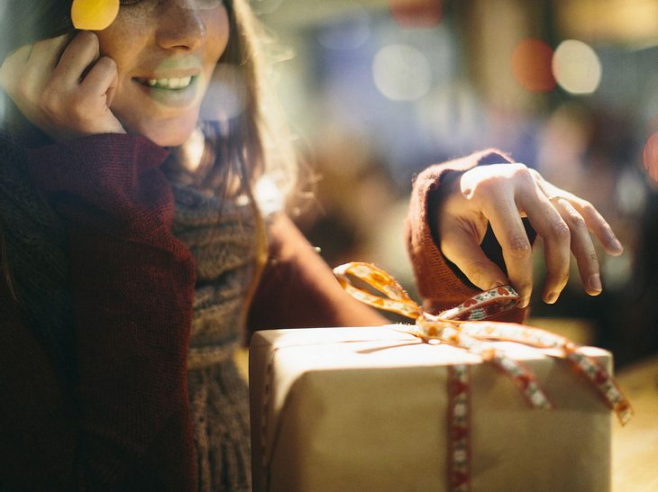 Wenn die Schwiegertochter sich wirklich über das Weihnachtsgeschenk freut, ist die Freude selber groß.