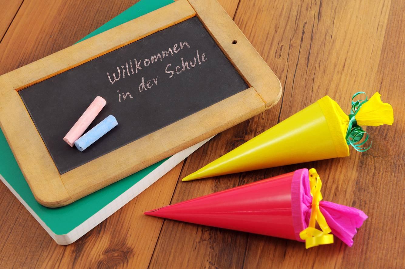 Geschenke zur Einschulung: Schultüte für Schulanfänger