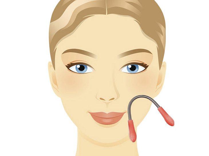 Ursache von Gesichtsbehaarung bei älteren Frauen