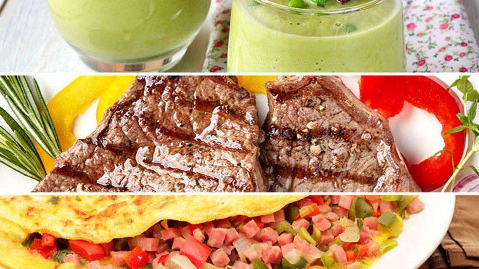 Ein gesundes Abendessen kann sehr vielfältig sein. - Foto: violleta / Magone / wsmahar / iStock
