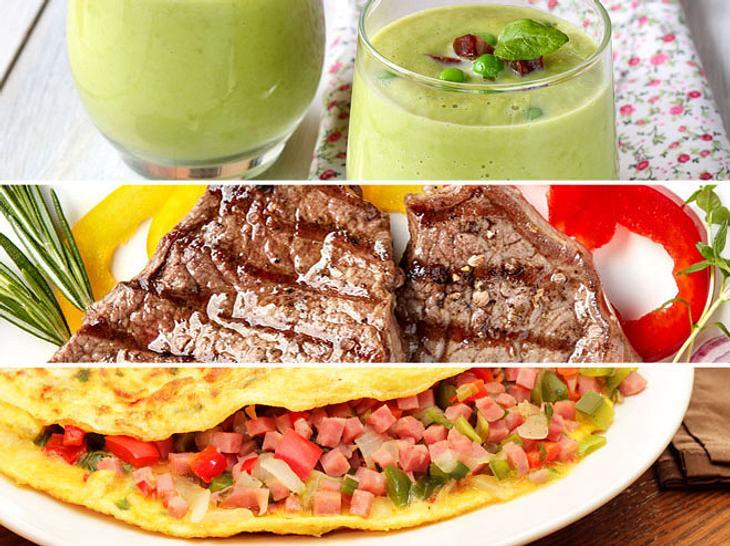 Was macht ein gesundes Abendessen aus?