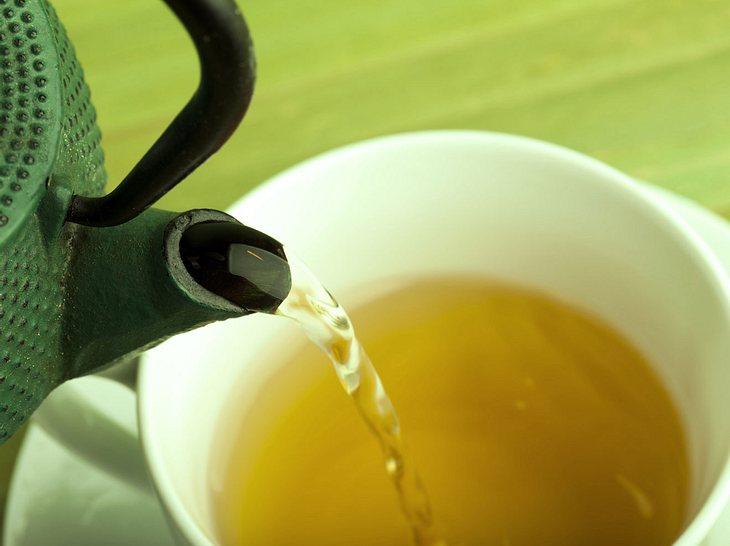 Grüner Tee tut viel für die Gesundheit.