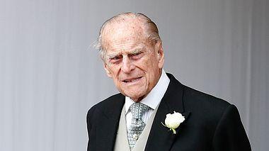 Der Herzog of Edinburgh  auf der Hochzeit seiner Enkeltochter Prinzessin Eugenie. - Foto: WPA Pool / GettyImages