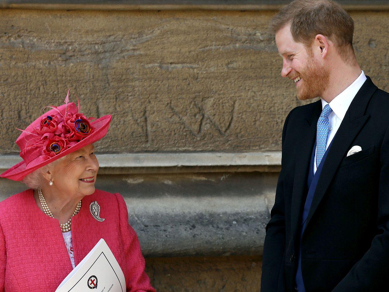 Königin Elisabeth II. und ihr Enkel Prinz Harry stehen sich sehr nahe.