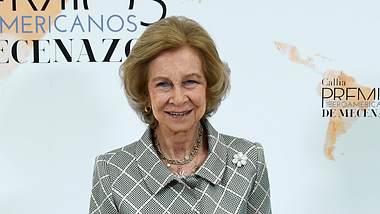 Spaniens ehemalige Königin Sofia engagiert sich für zahlreiche soziale Projekte. - Foto: Carlos Alvarez/ Getty Images