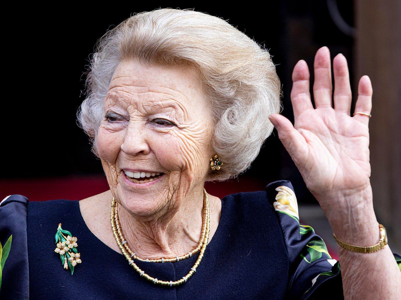 Ex-Königin Beatrix der Niederlange litt unter einem Cholesteatom.