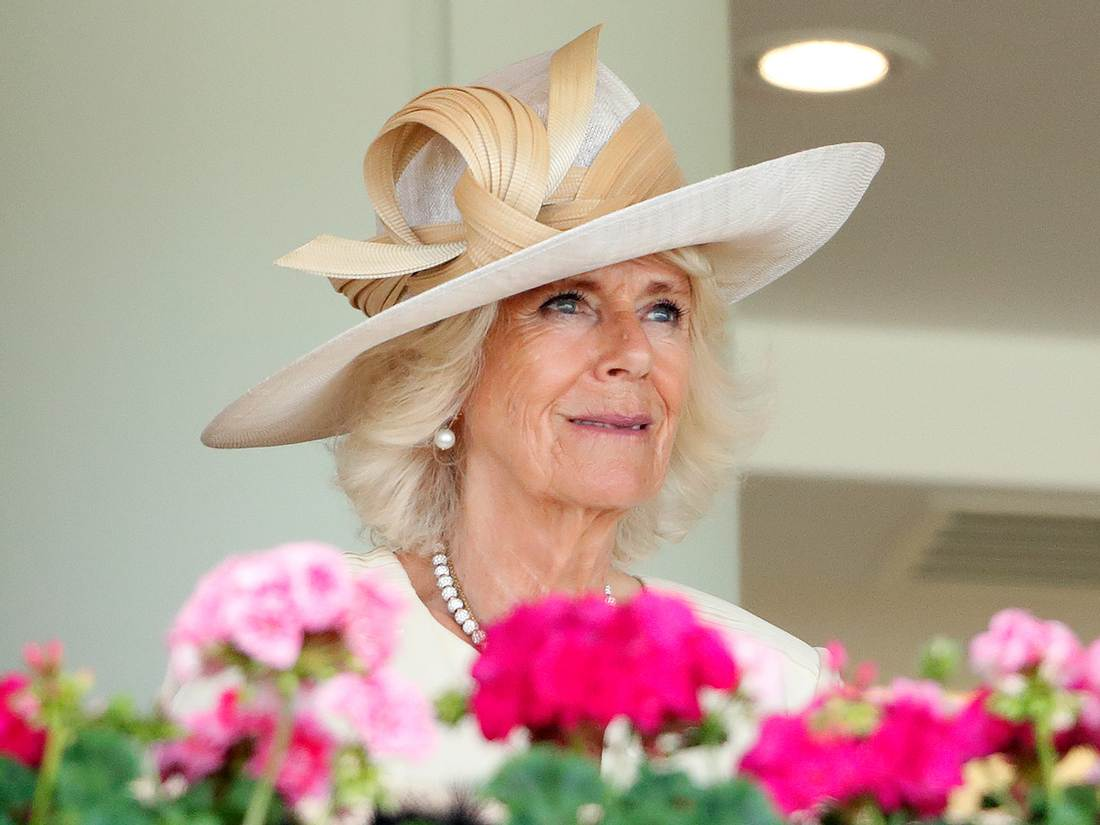 Herzogin Camilla beim Royal Ascot.