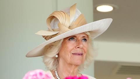 Herzogin Camilla beim Royal Ascot. - Foto:  Max Mumby/Indigo/GettyImages
