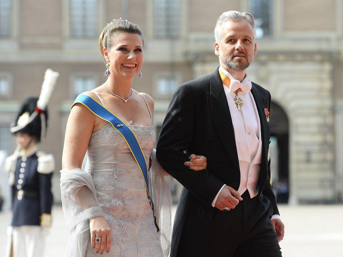 Prinzessin Märtha Louise zusammen mit ihrem bereits verstorbenen Ex-Mann Ari Behn.