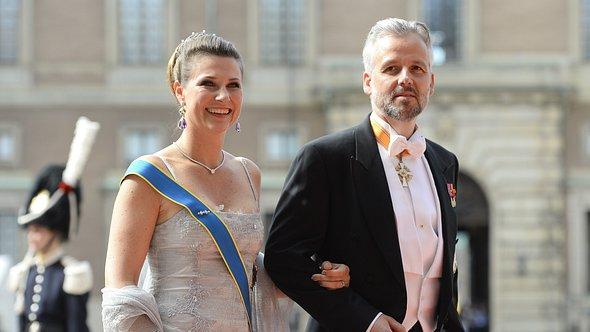 Prinzessin Märtha Louise zusammen mit ihrem bereits verstorbenen Ex-Mann Ari Behn. - Foto: Getty Images/ JONATHAN NACKSTRAND