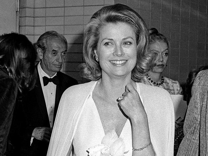 Fürstin Gracia Patricia von Monaco im Jahr 1974.