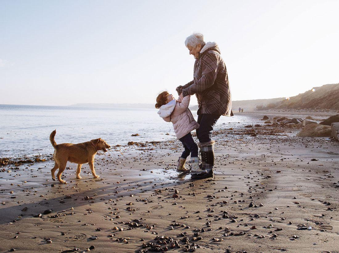 Großeltern sind eine Bereicherung für die Familie.