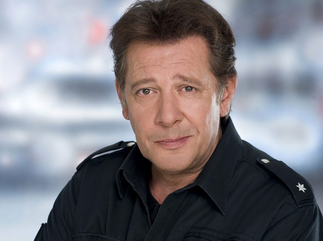 Jan Fedder in seiner Paraderolle als Polizist Dirk Matthies im Großstadtrevier.