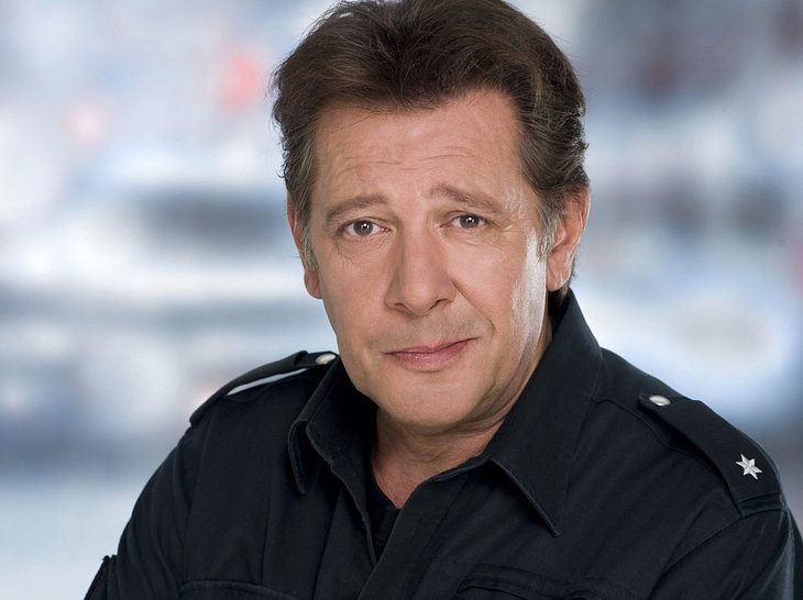 Jan Fedder in seiner Paraderolle als Polizist Dirk Matthies im 'Großstadtrevier'.