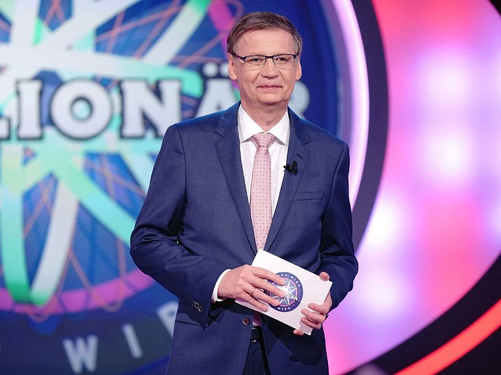 Moderator Günther Jauch bleibt auch weiterhin bei Wer wird Millionär?