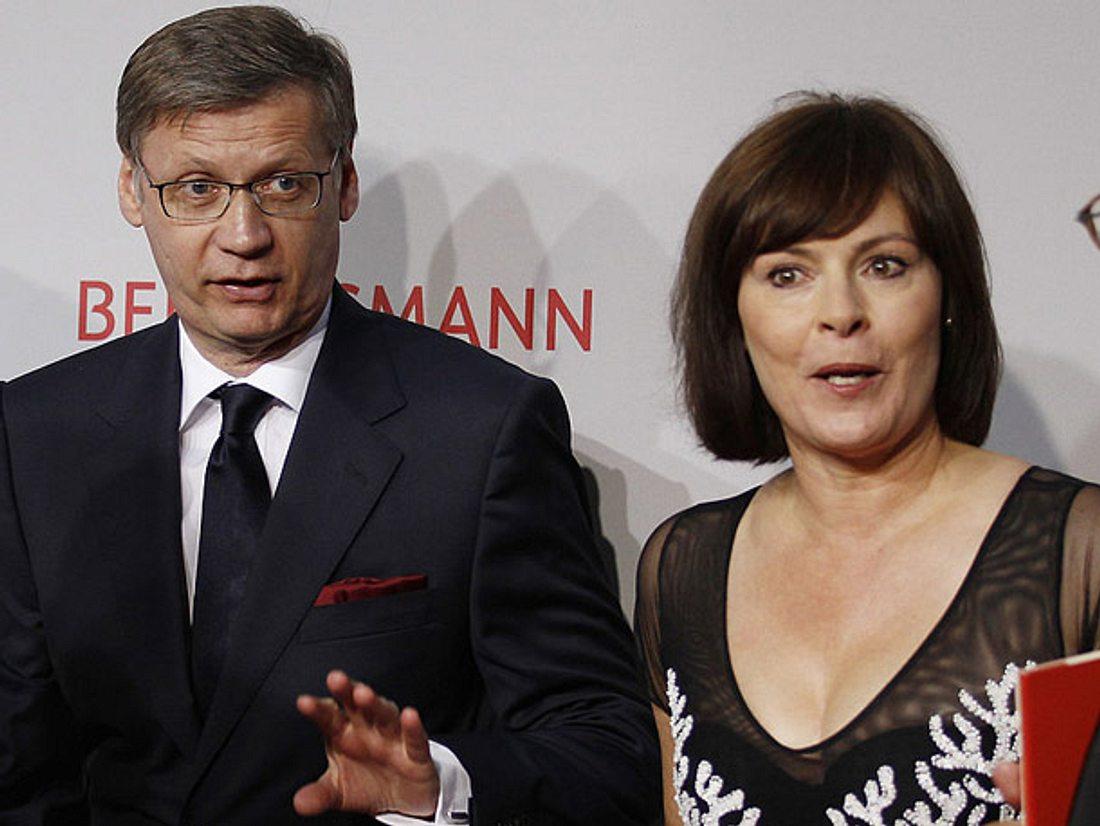 Günther Jauch und seine Frau Dorothea.