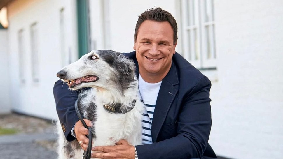 Guido Maria Kretschmer liebt Barsoi, die russischen Rennhunde.  - Foto: Küstercom