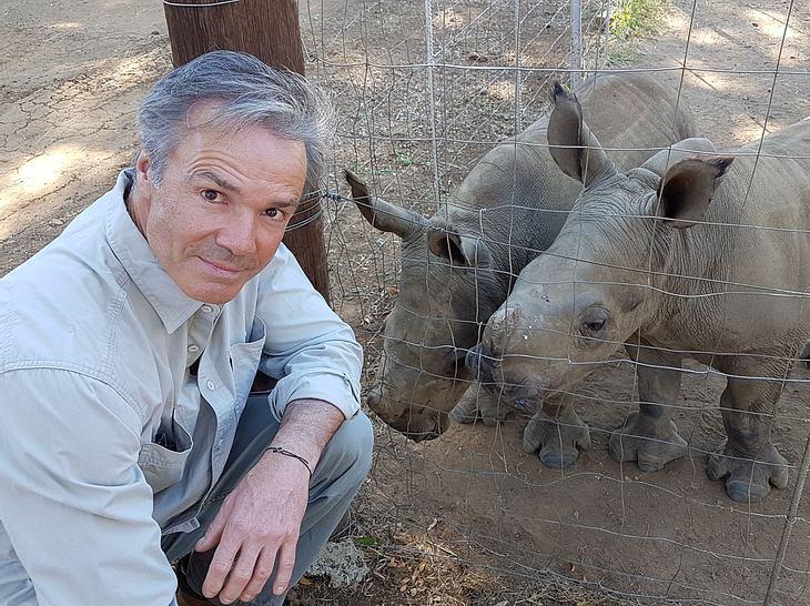 Hannes Jaenicke über das traurige Schicksal der Nashörner