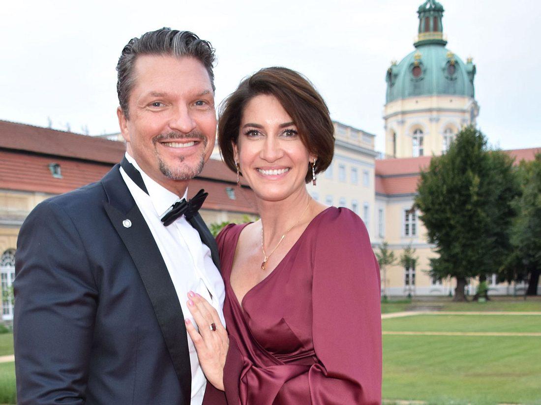 Hardy Krüger jr. mit Ehefrau Alice in Berlin.