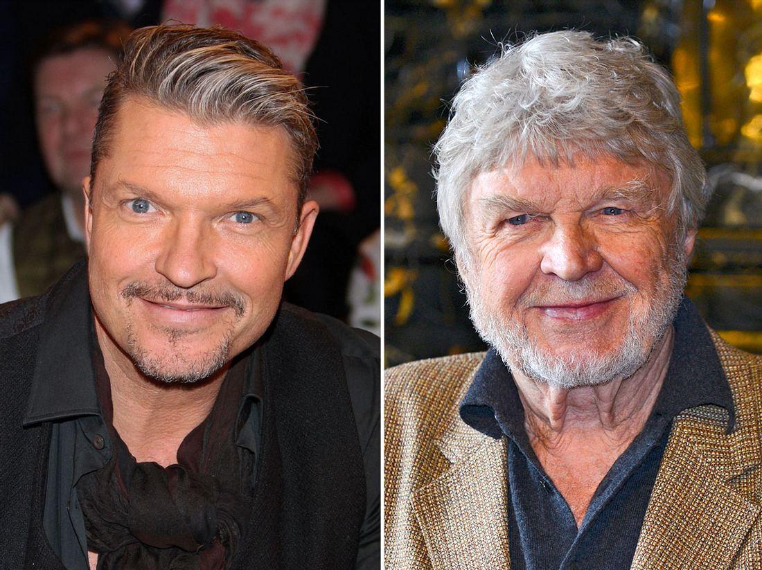 Hardy Krüger jr. und sein gleichnamiger Vater haben ein distanziertes Verhältnis zueinander.
