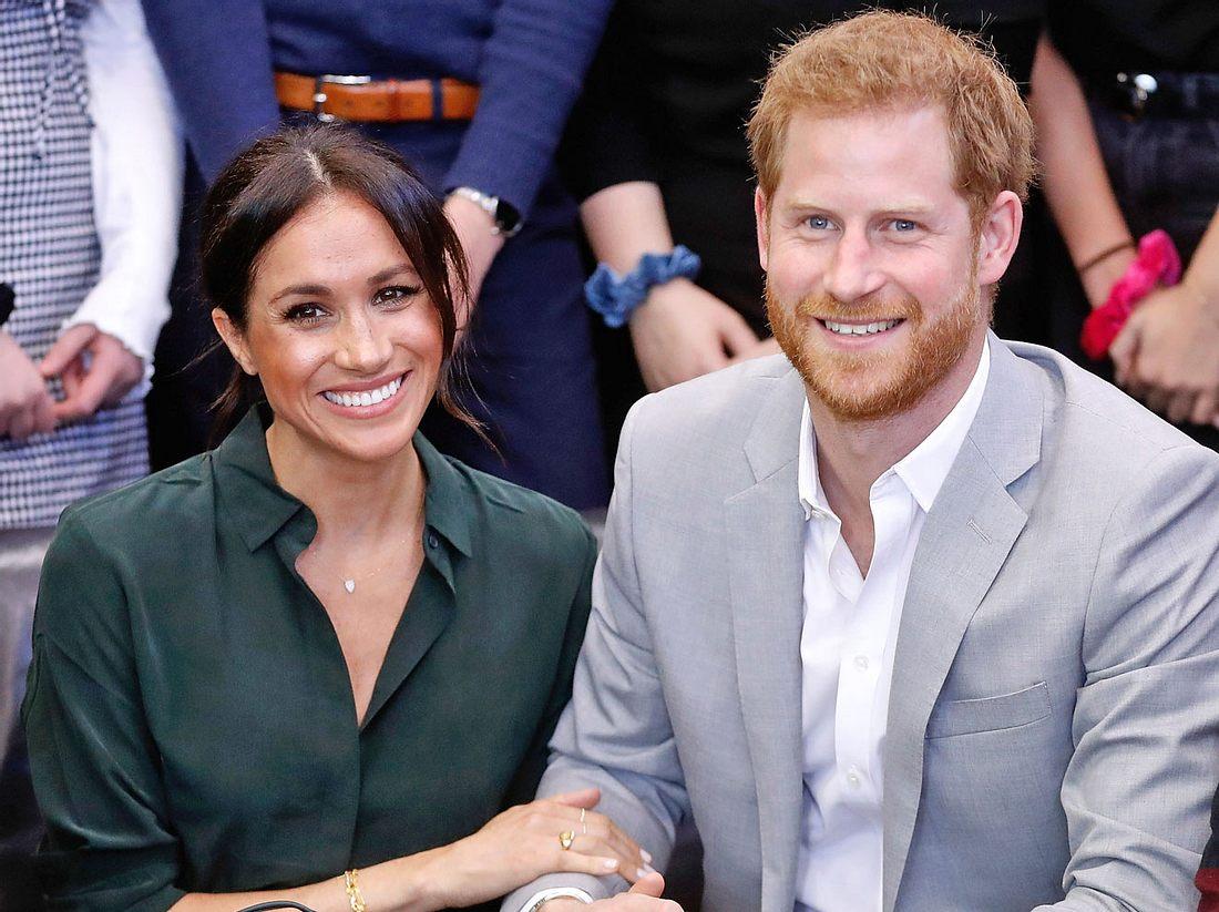Prinz Harry und seine Frau Herzogin Meghan haben ein Baby bekommen.