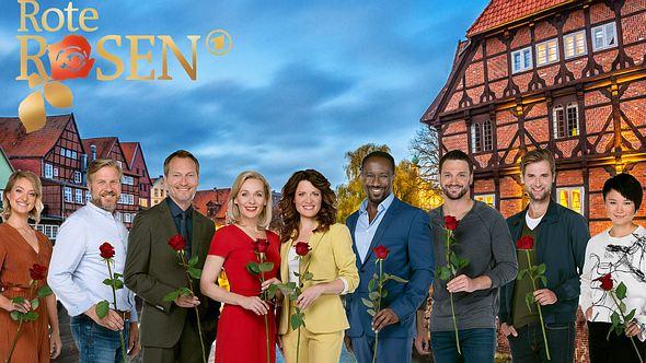 Hauptcast der 18. Staffel Rote Rosen.