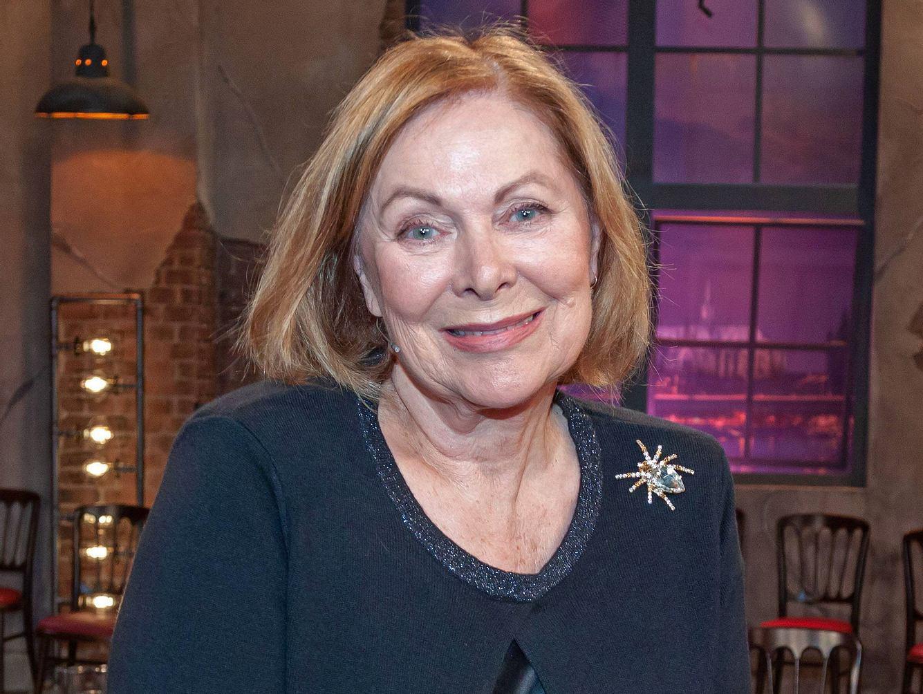 Heide Keller 2018 in der WDR-Talkshow 'Kölner Treff'.