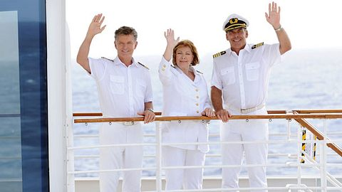 Heide Keller verlässt das Traumschiff. - Foto: Dirk Bartling / ZDF