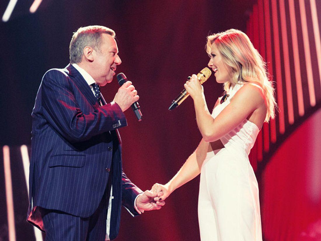 Roland Kaiser ist Star-Gast bei der Helene Fischer Show zu Weihnachten.