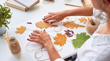 Herbstgirlanden selber basteln