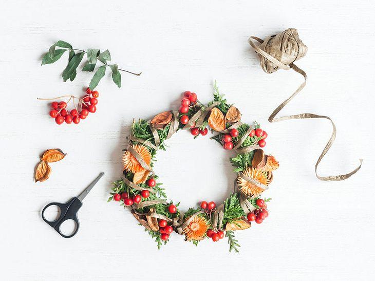 5 schöne Ideen für einen Herbstkranz