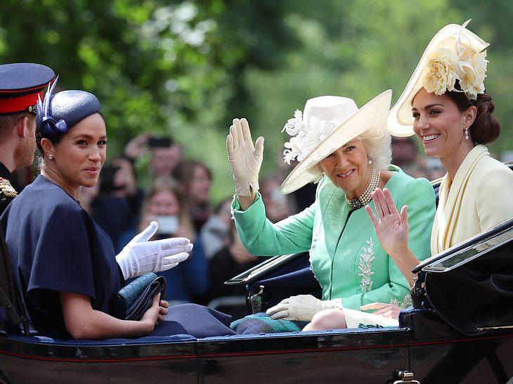 Camilla, Kate und Meghan repräsentieren die royale Familie wie keine anderen Frauen zuvor.