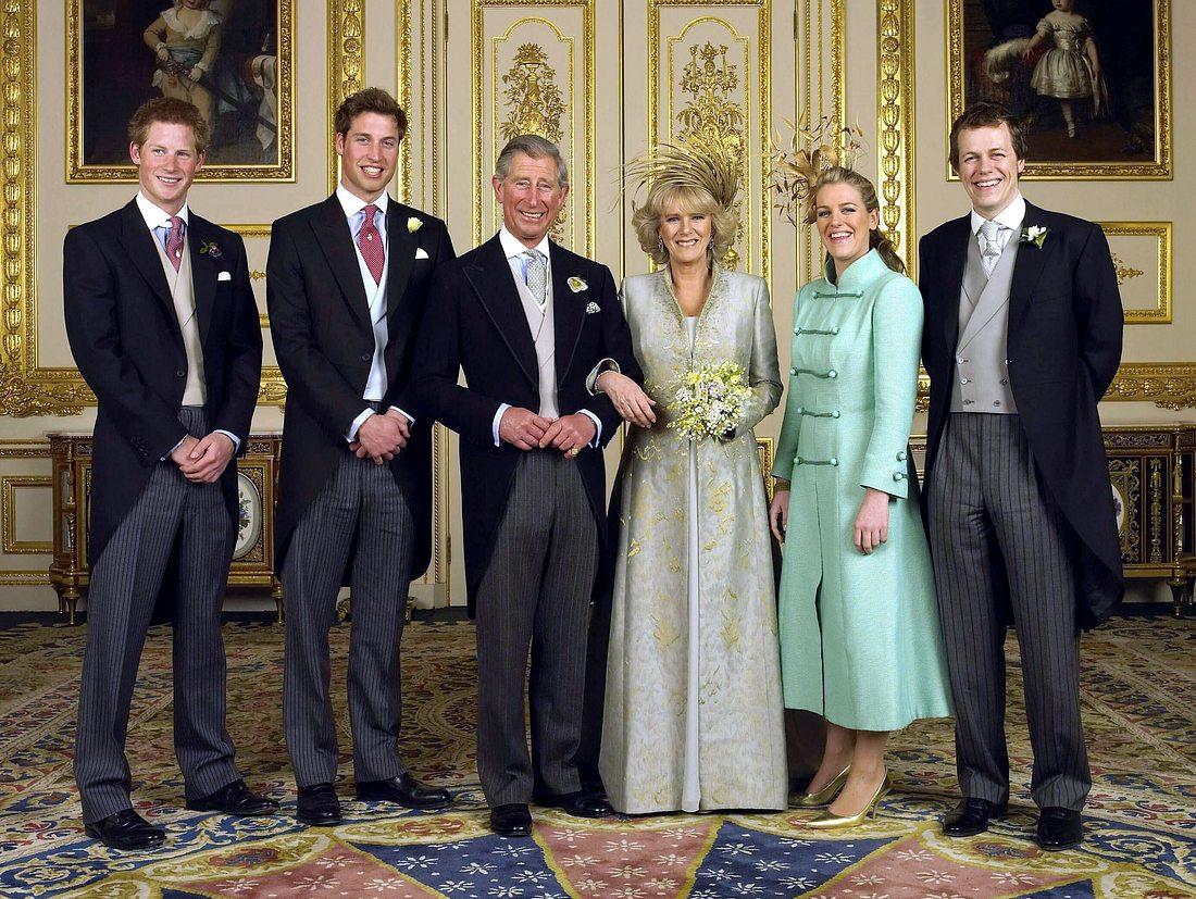 Familienfoto: Hochzeitstag von Prinz Charles und Herzogin Camilla.