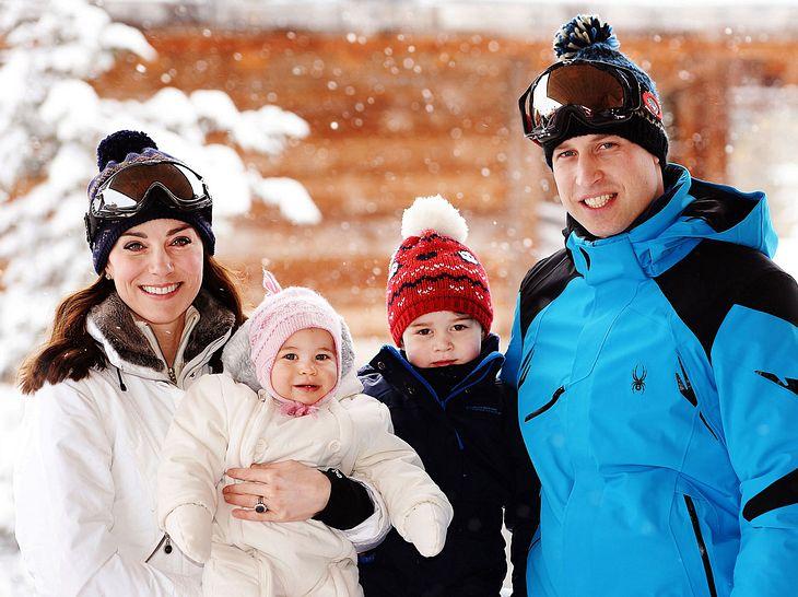 Herzogin Kate und Prinz William senden Weihnachtsgrüße