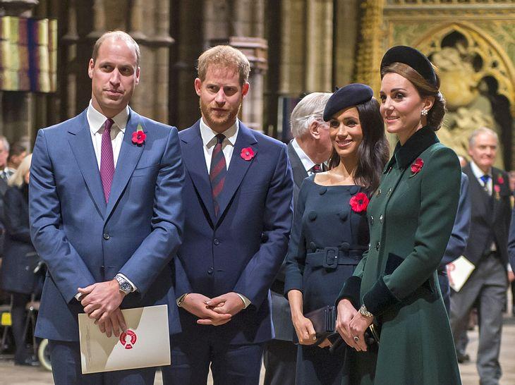 Feiern Herzogin Meghan und Herzogin Kate zusammen Weihnachten?