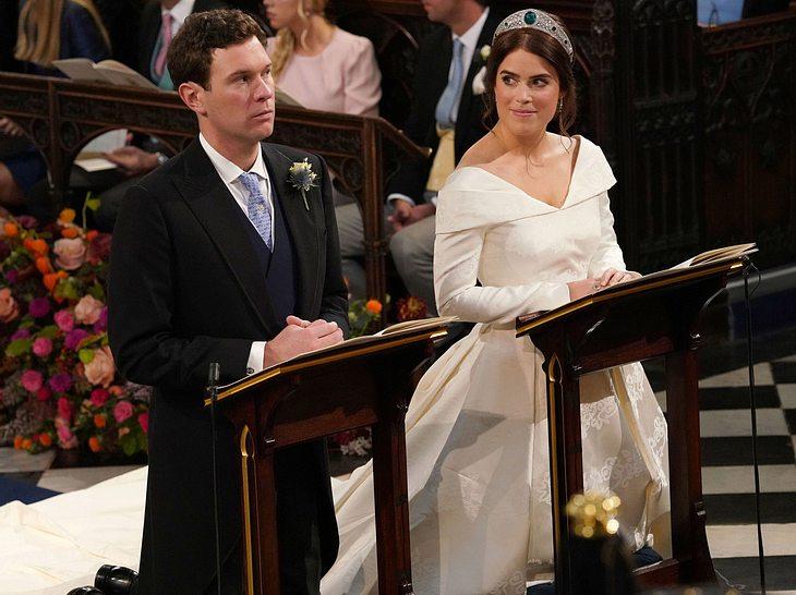 Hochzeit von Prinzessin Eugenie: Das Paar bei der Trauung