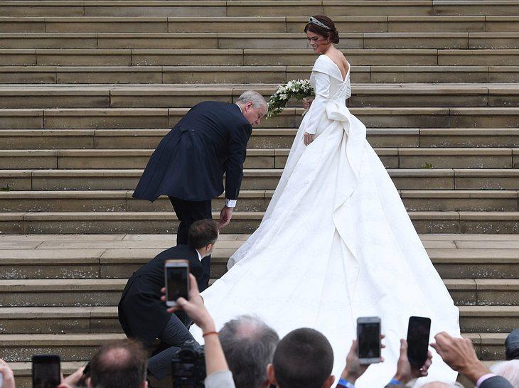 Hochzeit von Eugenie: So schön ist ihr Brautkleid
