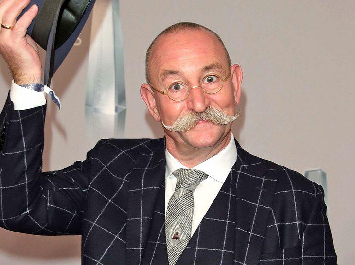 Moderator und Koch Horst Lichter ist für seinen Schnurrbart bekannt.