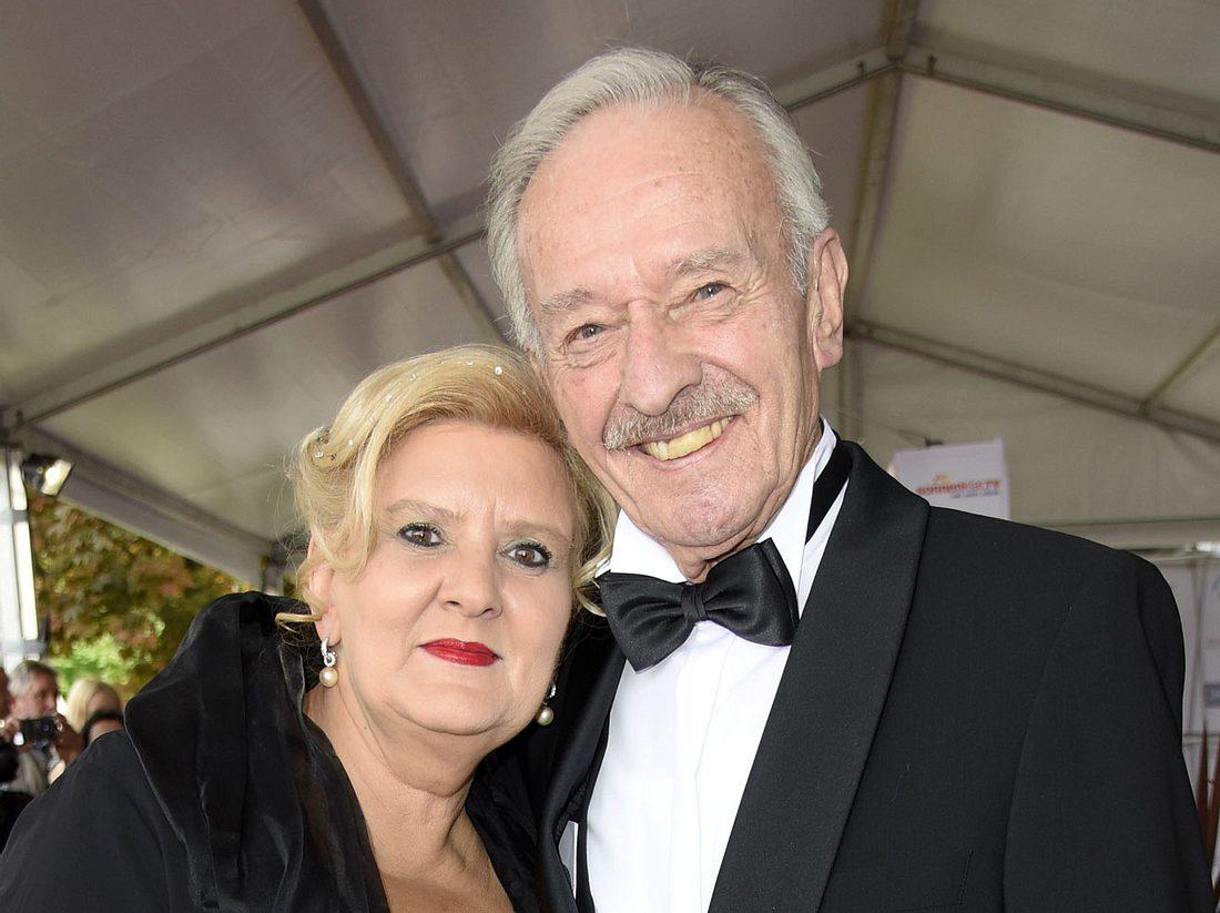 Schauspieler Horst Naumann, Ex-Traumschiff-Arzt, und seine Frau Martina Linn-Naumann.