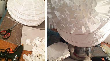 IKEA Lampenschirm aufhübschen: 5 Tipps - Foto: Liebenswert