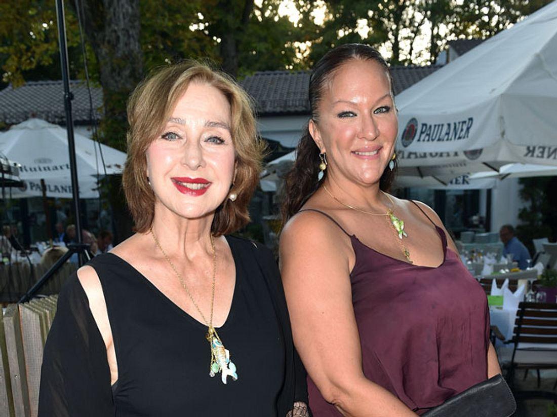Ein Bild aus glücklichen Tagen: Christine Kaufmann mit Tochter Allegra Curtis.