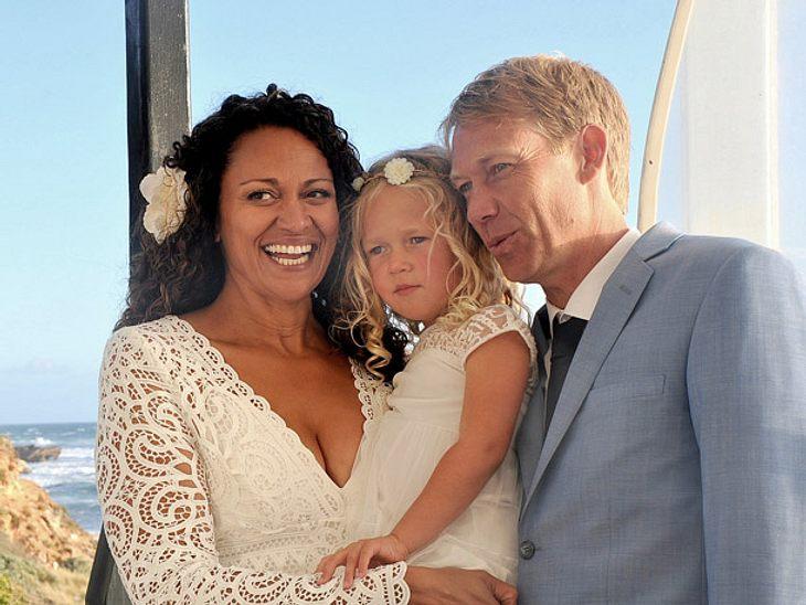 Die in Australien lebende Aminah Hart hat ihren anonymen Samenspender geheiratet.
