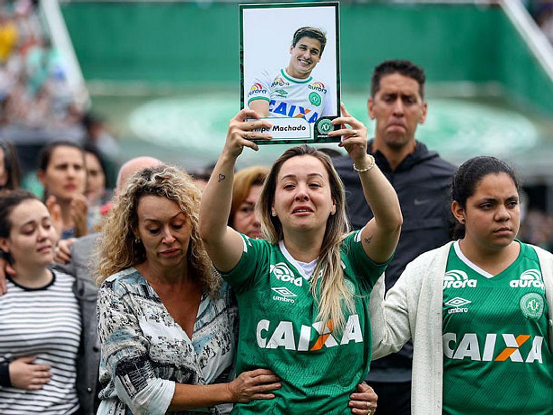 Am 3. Dezember fand die Trauerfeier für die Opfer von Chapecoense statt.