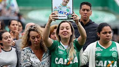Am 3. Dezember fand die Trauerfeier für die Opfer von Chapecoense statt.  - Foto: Buda Mendes/Getty Images