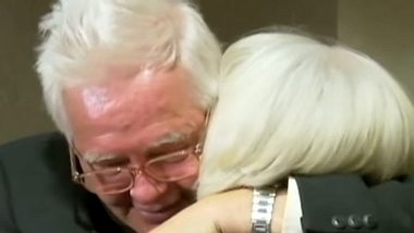 Nach 65 Jahren Trennung sind die Geschwister Clifford Boyson und Betty Billadeau endlich wieder vereint. - Foto: ABC News
